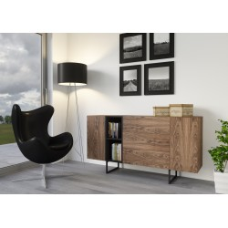 Chest of drawers ABATO 170 | walnut veener