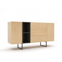 chest of drawers ABATO 170 oak