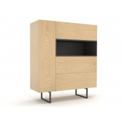 chest of drawers ABATO 122 oak