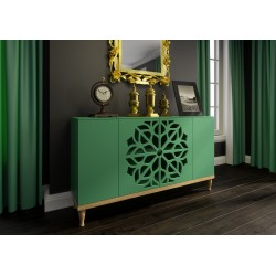 Chest of drawers MALVA KM160F | green