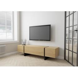 TV stand BLOCK | oak veener