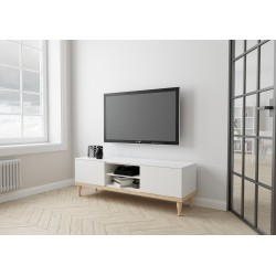 szafka RTV MALVA | biała