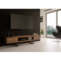 TV stand MADSION | walnut veener