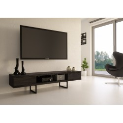 TV Stand MADISON | Black Oak