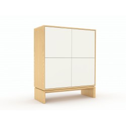 Chest of drawers ABATO 124 | oak veener