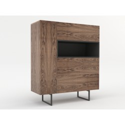 Chest of drawers ABATO 122 | walnut veener