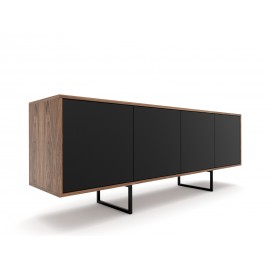 Chest fo drawers ABATO SLEEK | walnut veener