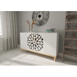 Chest of drawers MALVA KM160F | white
