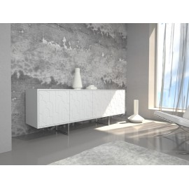 Chest of drawers ABATO Tetris| white lack